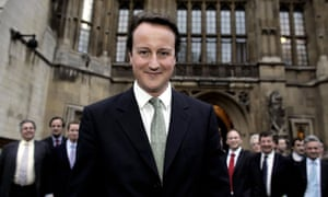 David Cameron in 2005, just before he took over the leadership of the Conservative party.