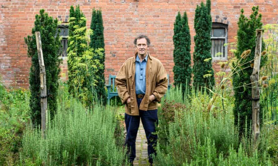 Monty Don was in a garden