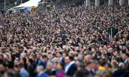 On 13 March, huge crowds gathered at the Cheltenham Festival.
