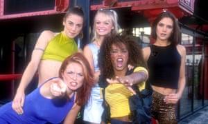 Rebellion lite … the Spice Girls in 1996.