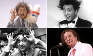 The face that launched a thousand quips … Ken Dodd.