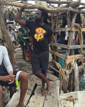Marlon James at Calabash this year.