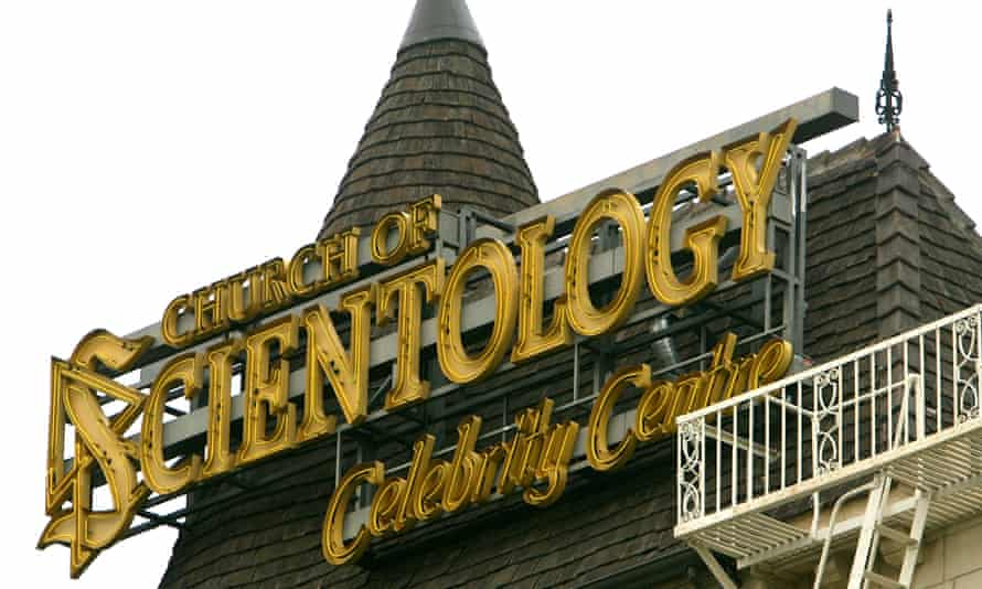 Church of Scientology in Los Angeles, California.
