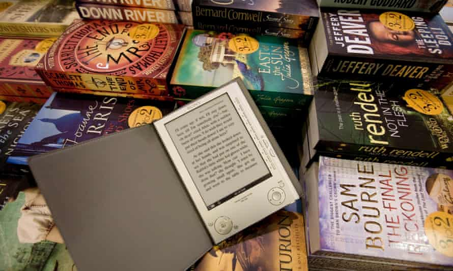 Electronic book reader