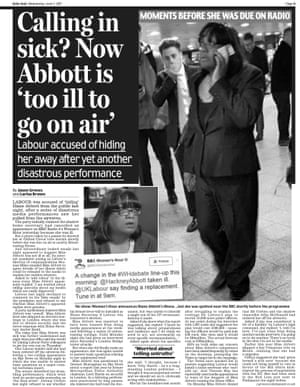 Daily Mail page nine, Wednesday 7 June 2017