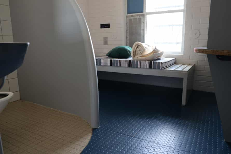 A cell at Banksia Hill detention centre