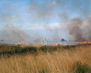 Paul Graham, Burning Fields, Melmerby, North York- shire, September 1981