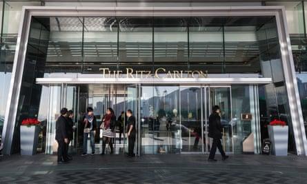 Hong Kong's Ritz-Carlton