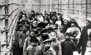 Jewish children, survivors of Auschwitz