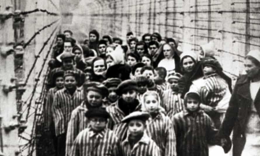 Jewish children, survivors of Auschwitz