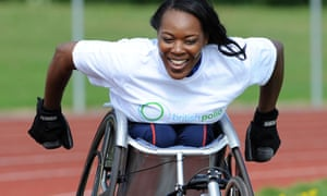 Paralympian sprinter Anne Wafula Strike