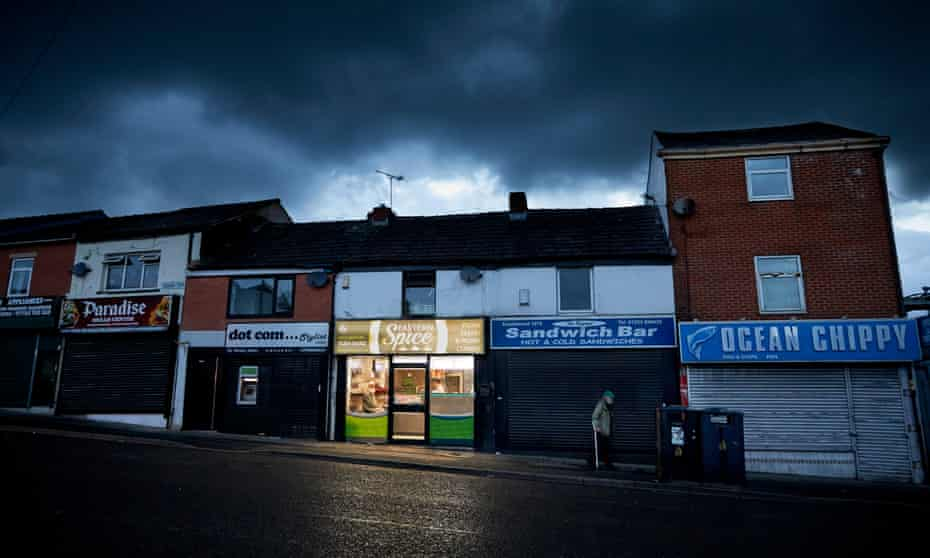 Bank Top in Blackburn offers an array of fast food outlets.