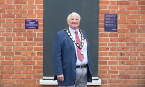 Ian Titman, mayor of Ampthill.