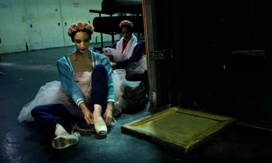Behind the scenes at the Cuban National Ballet.