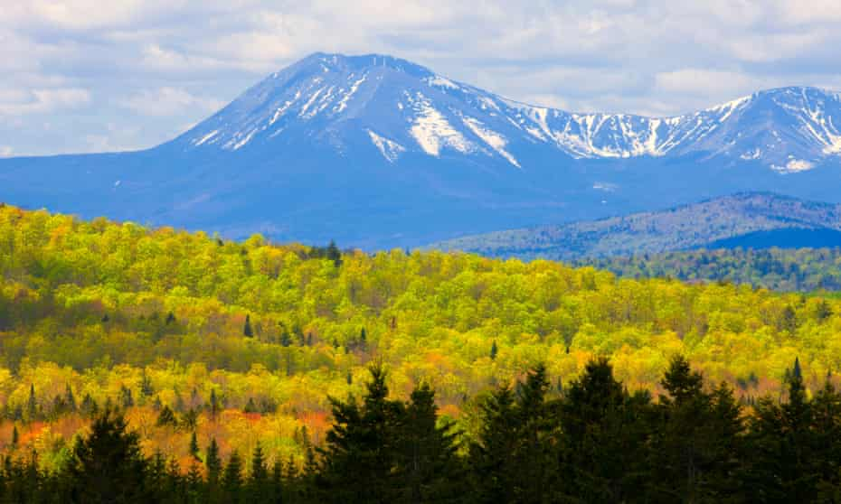 Mount Katahdin, Baxter State Park, Maine, United States of America