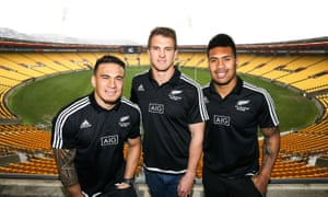Sonny Bill Williams, Scott Curry and Ardie Savea