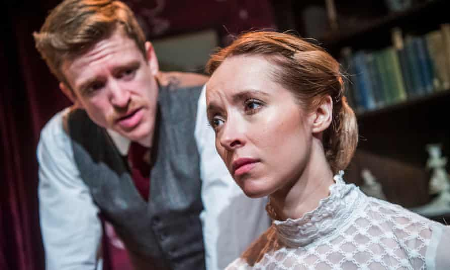 Brian Martin as Henry Clegg and Alix Dunmore as Jane in Jane Clegg.