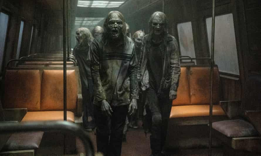 Journey from hell … The Walking Dead