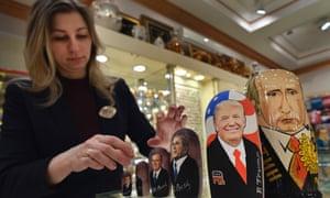 Russian dolls Trump Putin