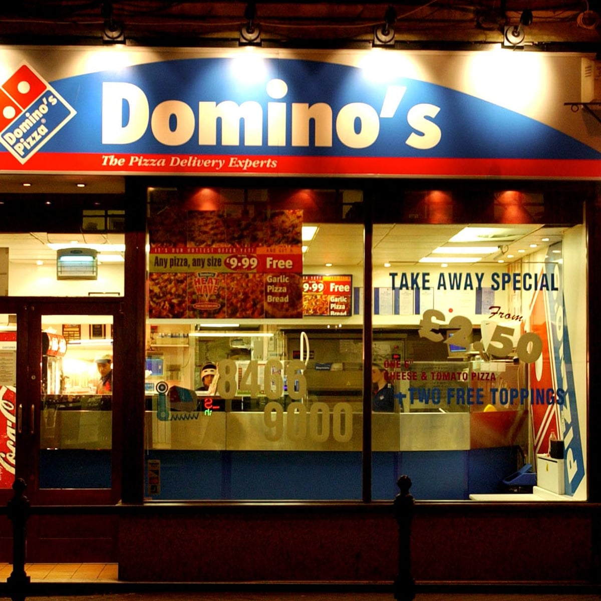 Domino S Struggles As Rival Delivery Services Threaten To Topple It Domino S Pizza The Guardian