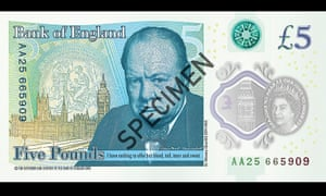 The new banknotes are printed on polymer, a thin flexible plastic film, which is seen as more durable and more secure.