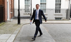 The foreign secretary, Jeremy Hunt