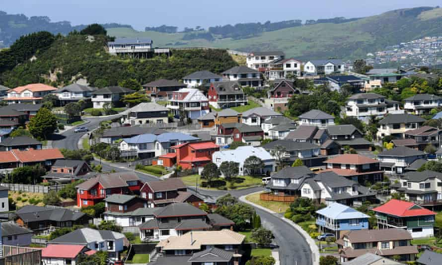 Houses in suburban Wellington