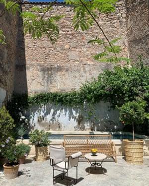 Sun trap: the Provençal garden of Atelier Vime.