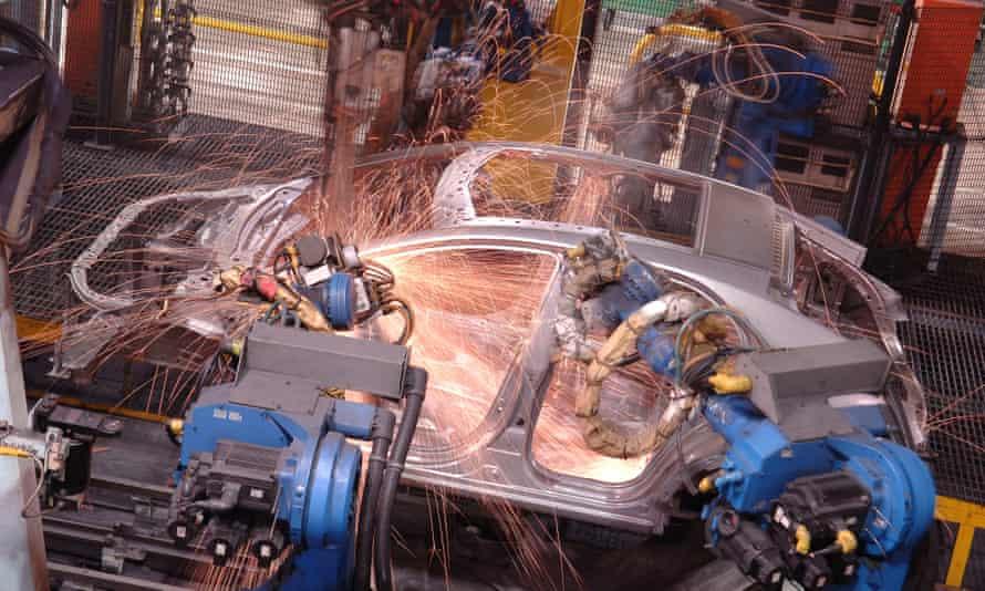 Production of the Civic at Honda's Swindon factory