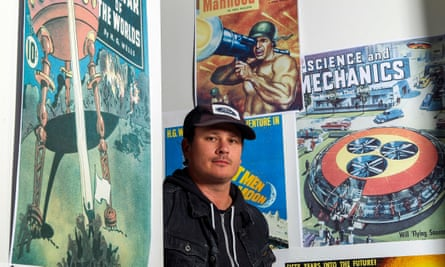 'Astronauts on the moon were having encounters' … Tom DeLonge, in his shop To the Stars, in Encinitas, California.