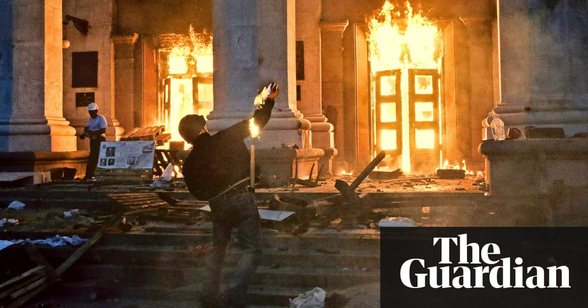 Image result for Odessa massacre took place on May 2, 2014   images