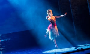 At home in the spotlight … Ashley Shaw as Vicky Page in The Red Shoes.
