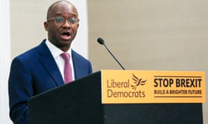 Sam Gyimah came third in Kensington, after initially looking the main danger to the Conservatives.