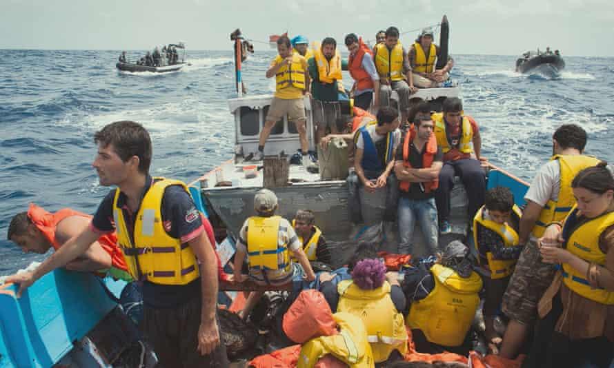 Footage of seaborne asylum seekers feature in the 2016 Australian documentary Chasing Asylum.