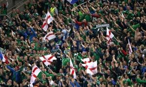 Northern Ireland football fans