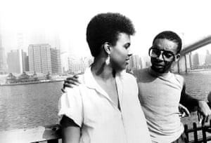 Tracy Camilla Johns and Spike Lee in She's Gotta Have It.