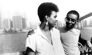 Tracy Camilla Johns and Spike Lee in She's Gotta Have It