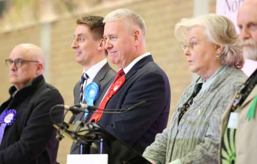 Ian Lavery, re-elected Labour MP for Wansbeck in Northumberland, after a recount