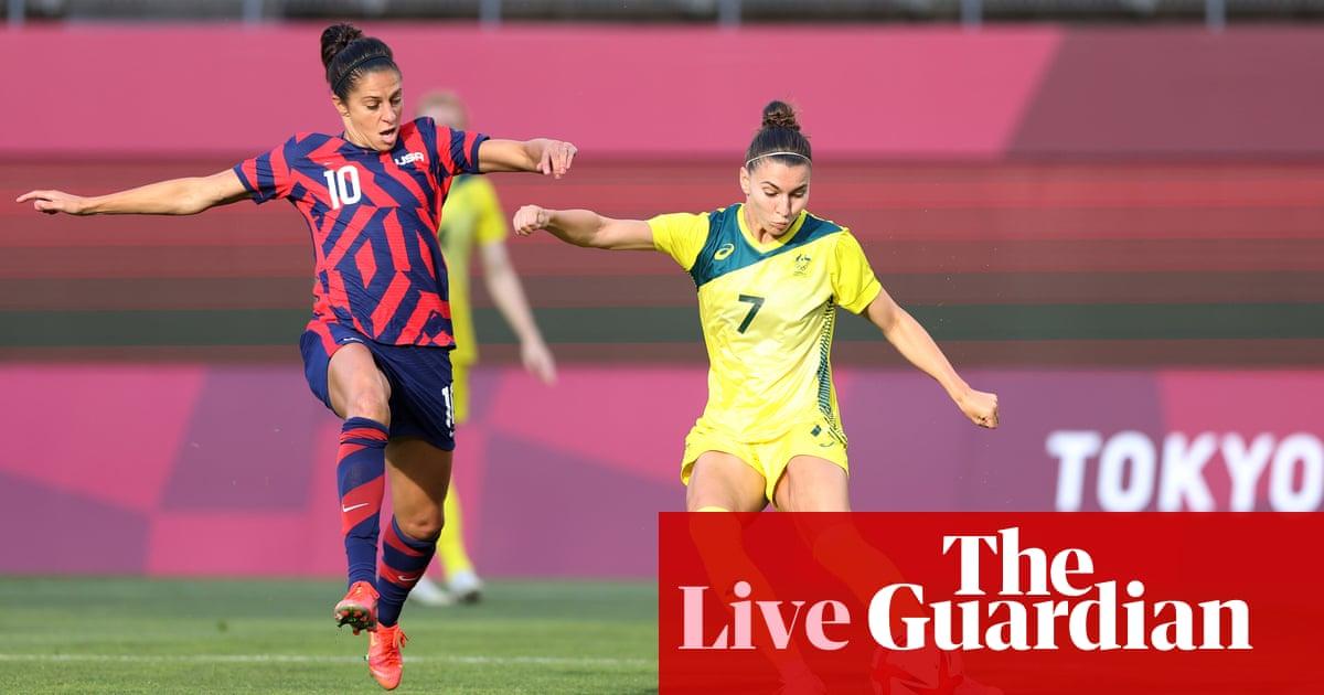Australia v USA: Tokyo Olympics 2020 women's football bronze medal match – live!