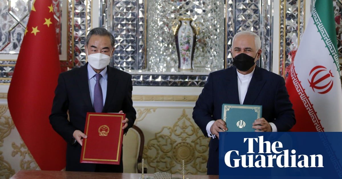 Iranian leaders pressed to disclose details of 25-year China pact