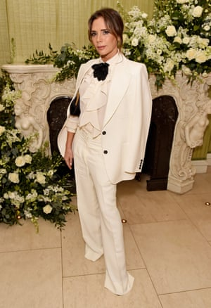 Victoria Beckham at the Vogue and Tiffany party