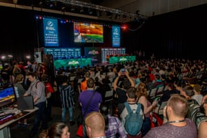 ESL (Electronic Sports League) at Pax Australia