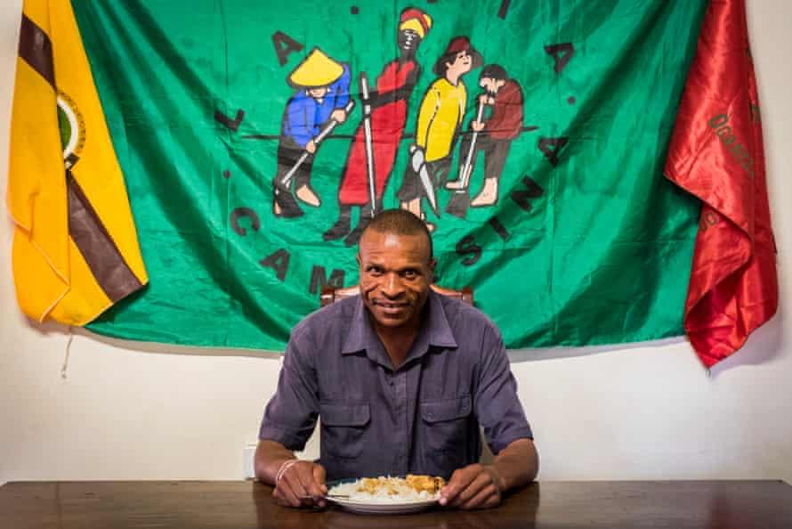 Zimbabwean farmer Nelson Mudzingwa