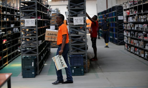 Processing orders in a Jumia warehouse