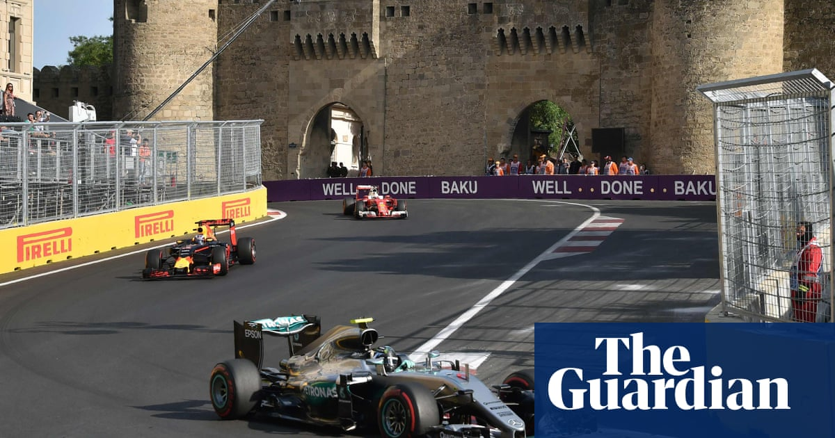 F1 European Grand Prix Five Things We Learned From Baku Formula One 2016 The Guardian