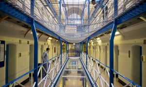 Prison wing at HMP Wandsworth