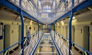 A view along wing A of Wandsworth prison (Photo by In Pictures Ltd/Corbis via Getty Images)