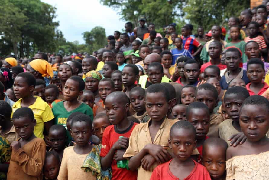 Burundians attend a rally addressed by Tanzania's prime minister, Kassim Majaliwa, at Nduta refugee camp in Kigoma, Tanzania.