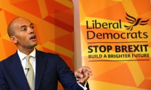 Chuka Umunna unveils the Liberal Democrats' plan for equalities on Thursday.