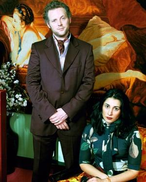 Joe Corre and Serena Rees.